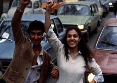 تصویر یک انقلاب / اثر: احمد کاووسیان